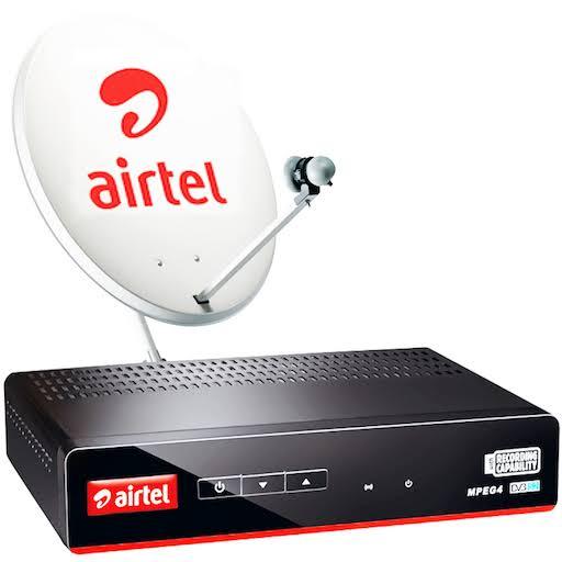 Airtel Digital TV SD DTH Box